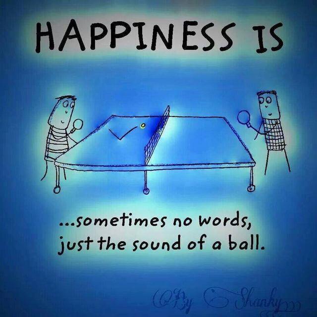 My Happiness Tabletennis Happy