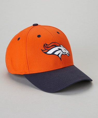 Take a look at this Orange Denver Broncos Baseball Cap - Adults by NFL on #zulily today!