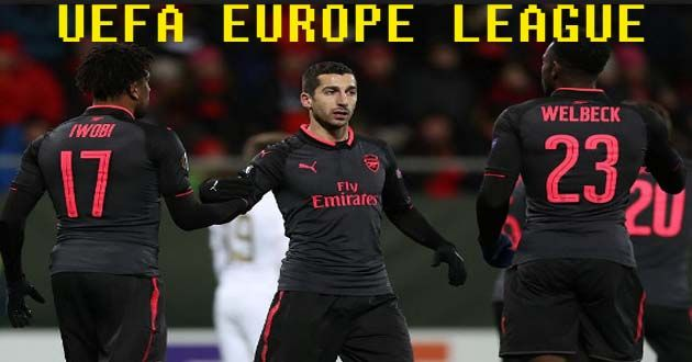 UEFA Europe League : Östersund 0-3 Arsenal Soccer Highlights