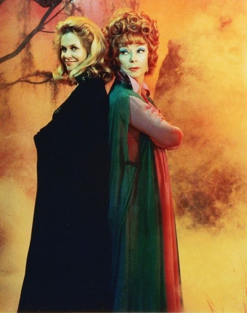 Samantha and Endora - v cool witches!!  Elizabeth Montgomery & Agnes Moorehead