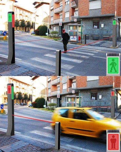 Creative traffic light design