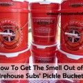 How To Get The Smell Out of Firehouse Subs' Pickle Buckets!~AreWeCrazyOrWhat.net