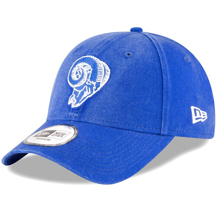 Los Angeles Rams New Era Throwback Logo Legacy Relaxed 49FORTY Fitted Hat - Royal - $22.39
