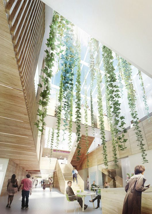 aarhus Designs Revolutionary Proton Therapy Center for Denmark,Courtesy of aarhus architects