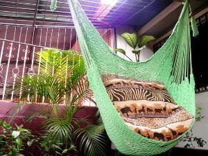 Light Green Wonderful Hanging Chair Hammock Handmade by hamanica