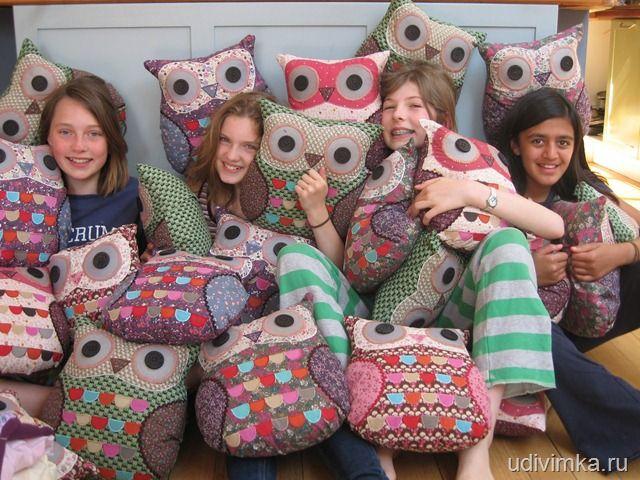 stitch cushion