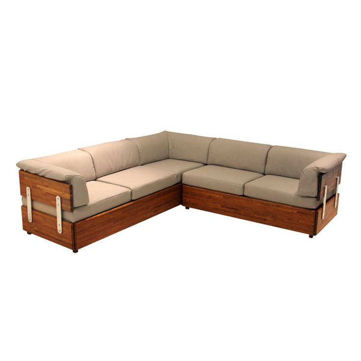 Rare Solid Stack Laminate Oak Sofa By Charles Gibilterra | Modern Sectional  Sofas, Modern Sectional And Sectional Sofa
