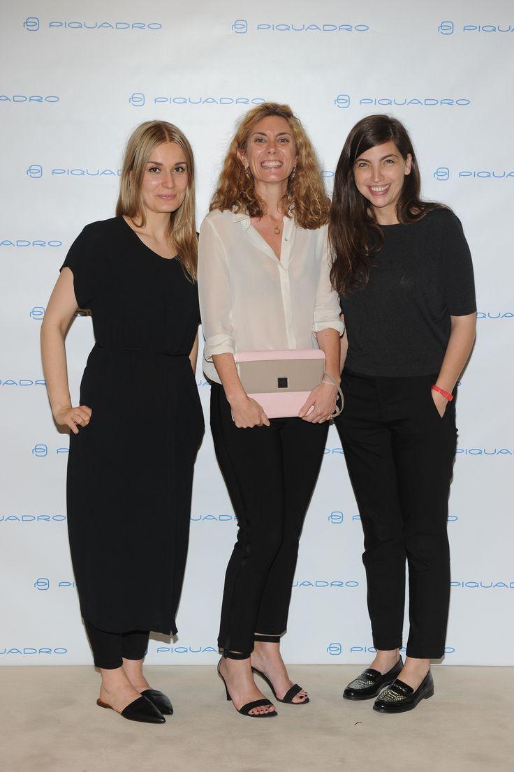 Milena Jaskula, Casilda Bilbao and Anne-Claire Ducoudray
