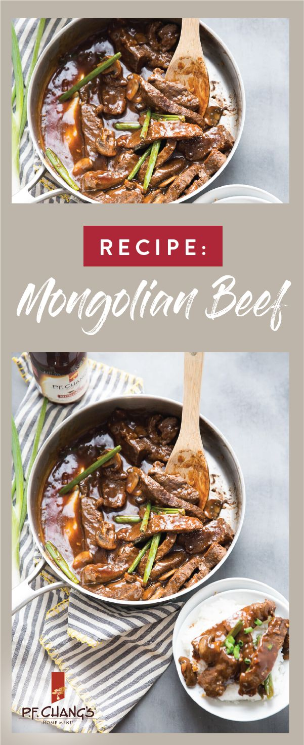 Ready for a dinnertime hack, P.F. Chang's® Home Menu Mongolian BBQ sauce makes it easy to enjoy your favorite asian flavors at home in no time. Check out this recipe for Homemade Mongolian Beef to change up your meal prep routine with a dish you can be sure your family will love. Pick up the ingredients you need at Kroger or your local Kroger banner to get started.