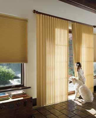 Levolor Sheer Vertical Blinds Perceptions Sheer Window