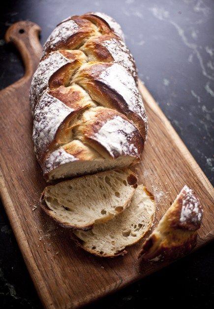 Braided Peasant Bread   Breadin5