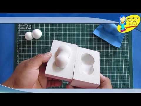 Molde de yeso para termoformar pies de fofuchas - YouTube