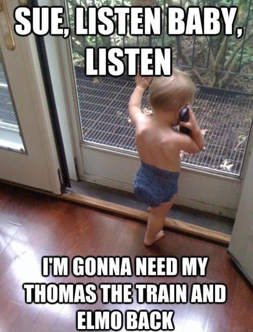 funny listen sue listen