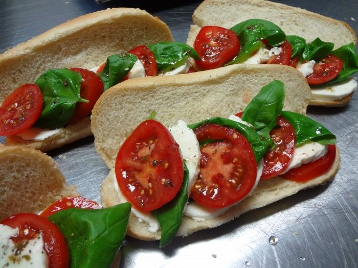 Specialty Sandwiches & Breads - Caprese Sub Catering by Debbi Covington - Beaufort, SC www.cateringbydebbicovington.com 843-525-0350