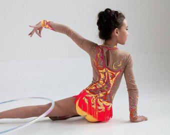 Wettbewerb rhythmische Gymnastik Leotard ice von artmaisternia