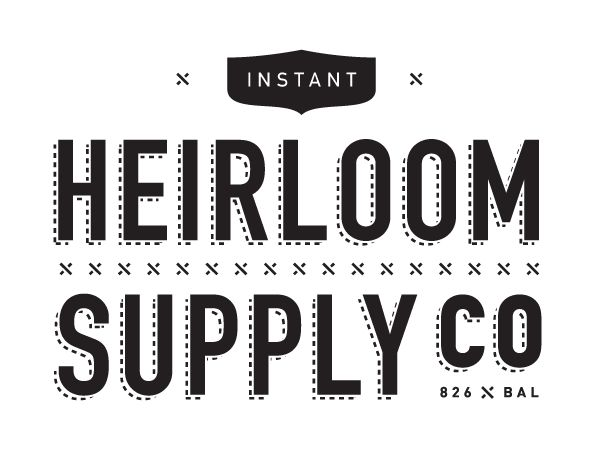 Heirloom Supply co. Logo