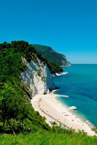 RivieradelConero in Marche Region, Italy where I was last summer