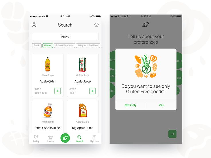 A few more screens from our working process on Food Delivery app - Nelio.