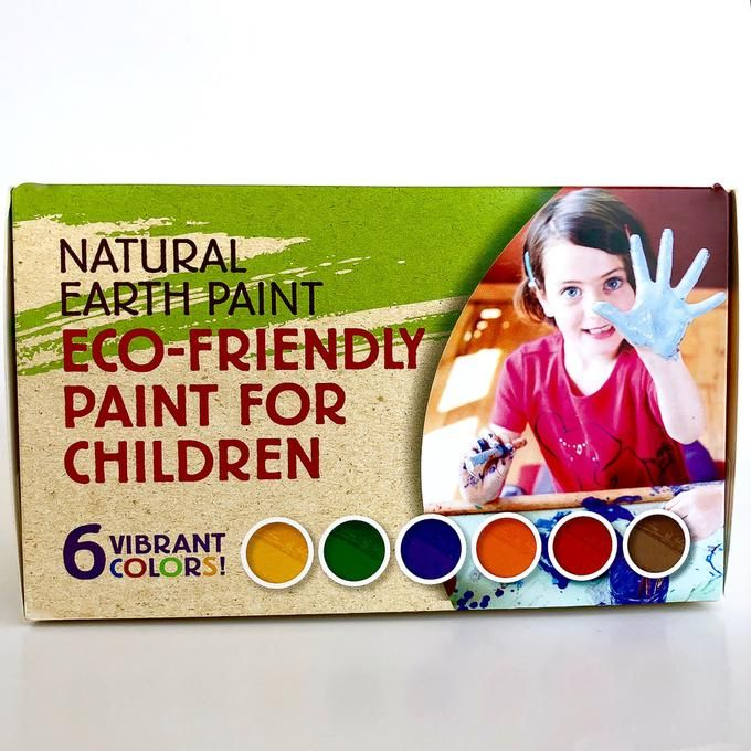 Children S Natural Earth Paint Kit Paint Kit Natural Earth