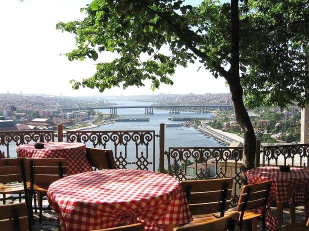 Istanbul Eyup  Mosque, Istanbul, go see the mosque than take the cable car to enjoy à coffee and the view at bar Lotti and than wander down through the beautiful cementery with à view