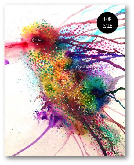 73 best ken oliver color burst techniques images on for Abstract watercolor painting tutorial