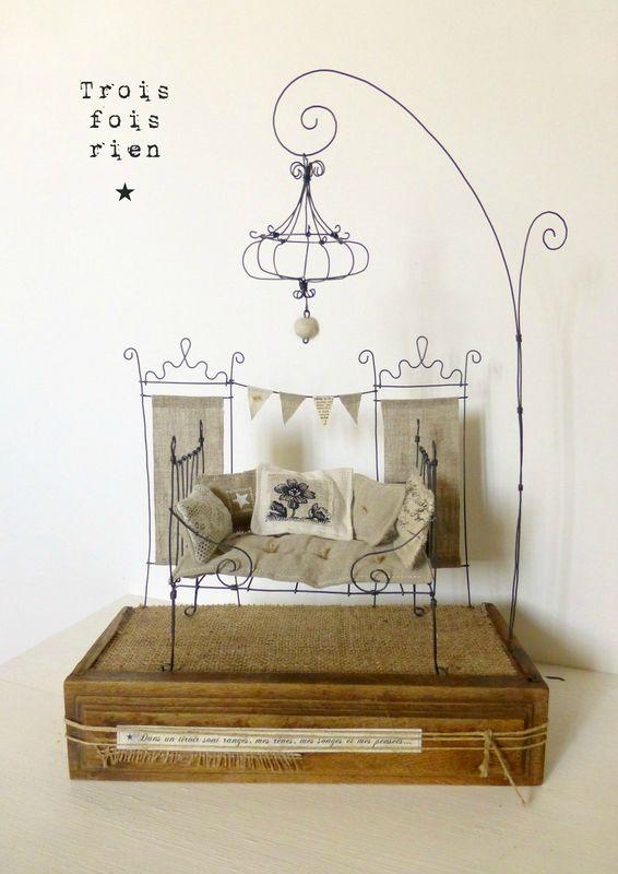 17 meilleures id es propos de lit poupee sur pinterest. Black Bedroom Furniture Sets. Home Design Ideas