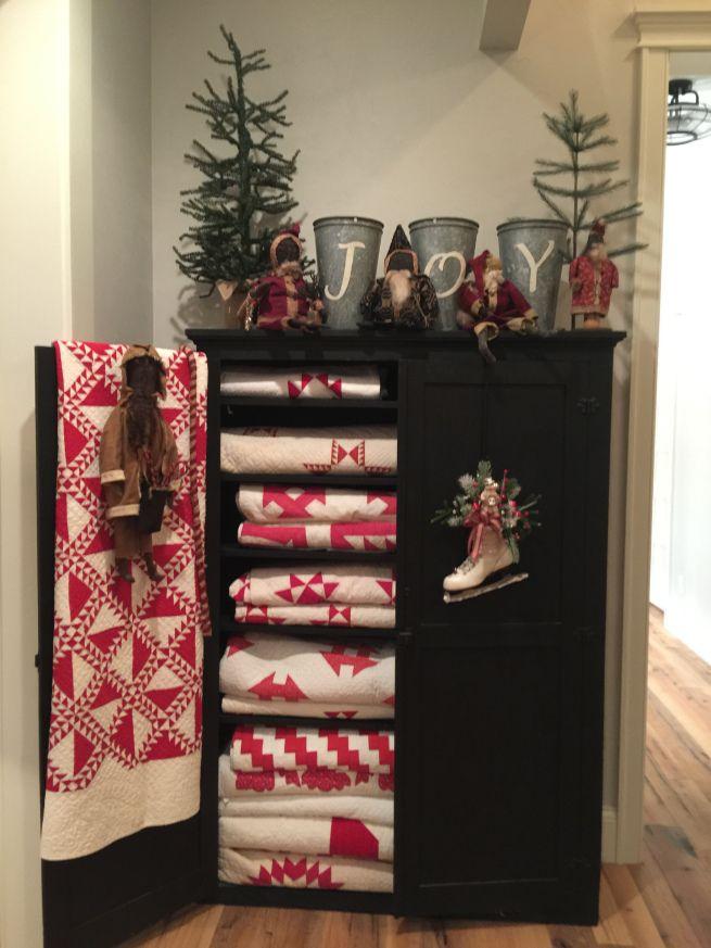 596 best Christmas Decorations images on Pinterest Primitive - primitive christmas decorations