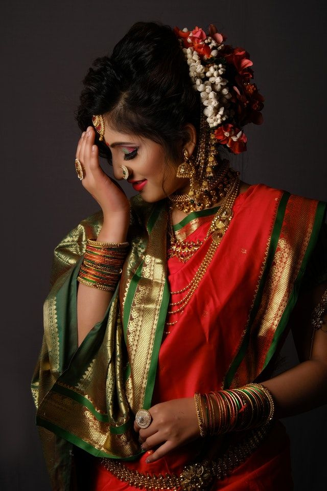 Top 15 Hairstyles For Sarees Pictures For All Types Of Face Simple Hairstyle For Saree Hair Style On Saree Indian Hairstyles