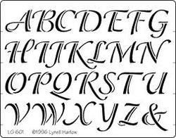 wood burning lettering kit | We are engaged in manufacturing a wide range of alphabet stencil.