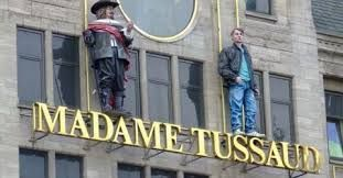 Het museum Madame Tussaud in Amsterdam