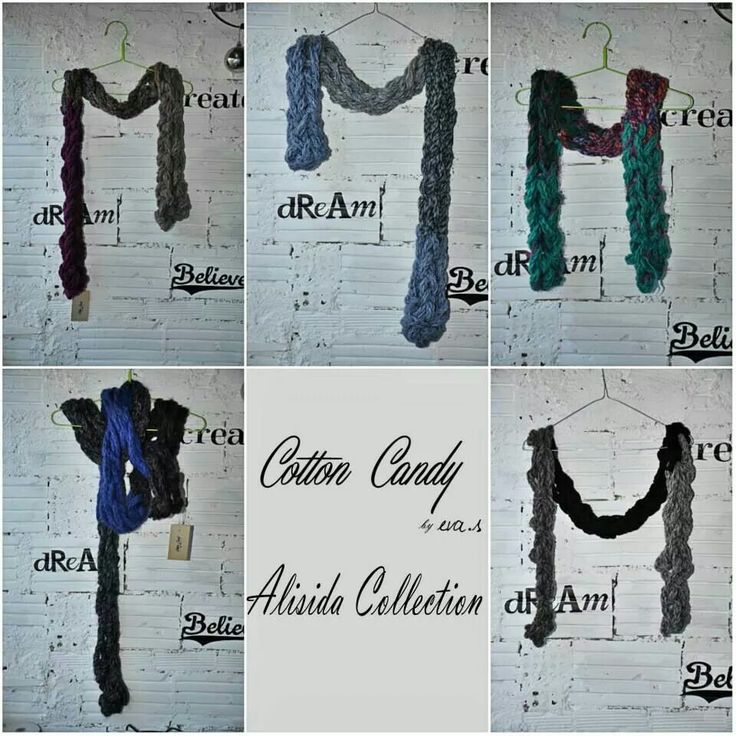 CottonCandy Scarfs from Alisida Collection designed by eva.s