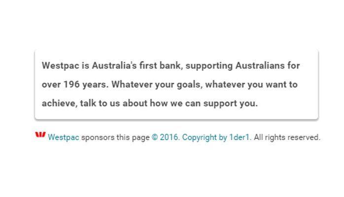Website Sponsoring