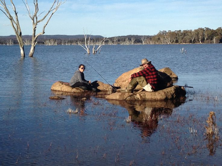 """Vicki Graham - """"For the best Camping and fishing holiday at Arthurs Lake, the Spirit of Tasmania gets you and your gear to one of the best places on earth! """""""