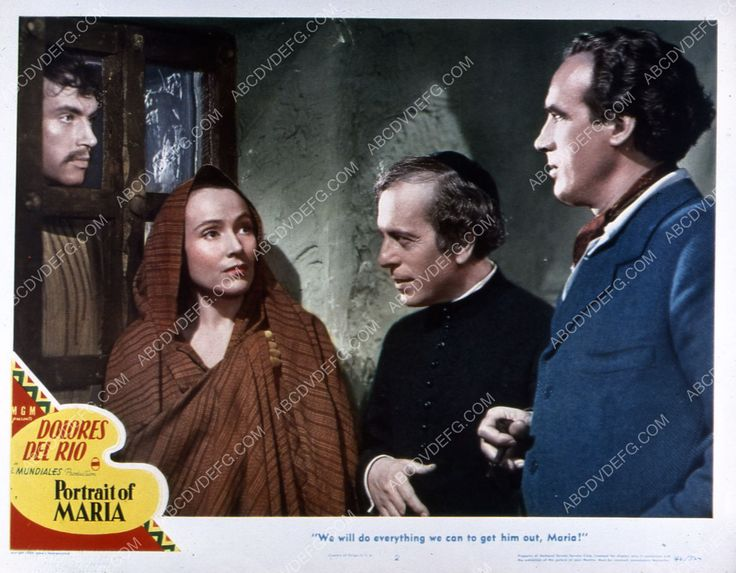 Dolores Del Rio film Portrait of Maria 35m-3084