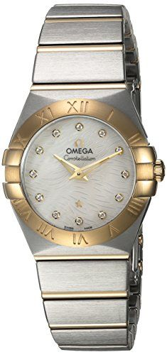 Omega Women's 'Constellation' Swiss Quartz Stainless Steel Dress Watch, Color:Two Tone (Model: 12320276055008) https://www.carrywatches.com/product/omega-womens-constellation-swiss-quartz-stainless-steel-dress-watch-colortwo-tone-model-12320276055008/ Omega Women's 'Constellation' Swiss Quartz Stainless Steel Dress Watch, Color:Two Tone (Model: 12320276055008)  #diamondwatches