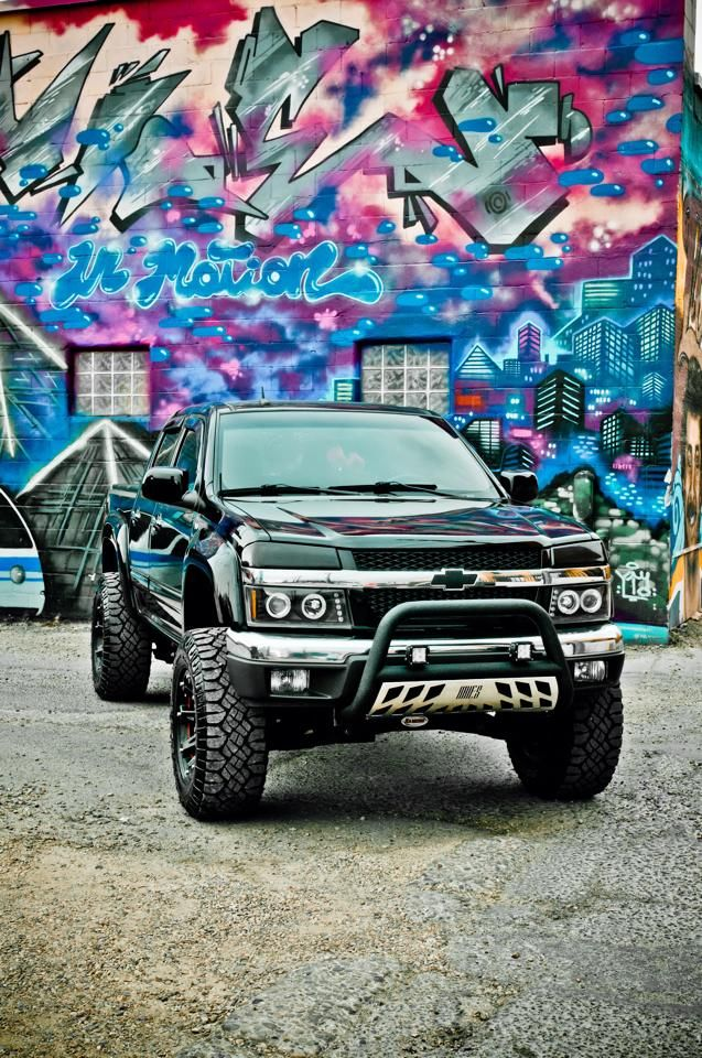 Chevy Colorado. www.CustomTruckPartsInc.com is one of the largest Truck accessories retailer in Western Canada #CustomTruckParts #pickups #pickuptruck Custom Truck Parts