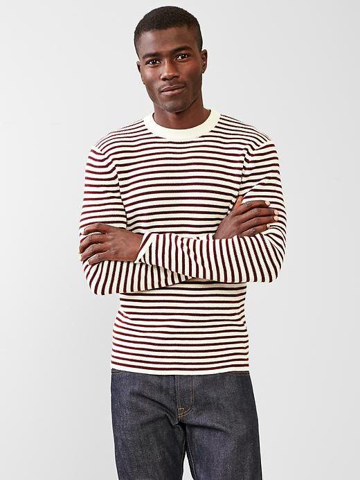 Stripe bateau sweater