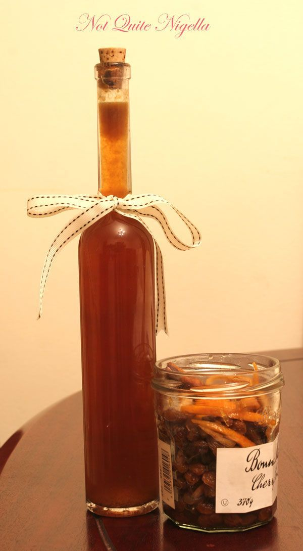 Christmas pudding vodka from Not Quite Nigella