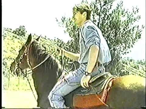 Young Jensen Ackles who sounds like he's 14. On a horse. With his Texas accent. Alright then.