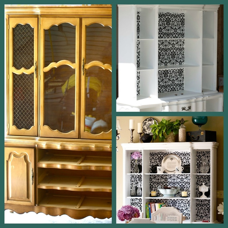 17 best Updating china cabinet images on Pinterest | Painted ...