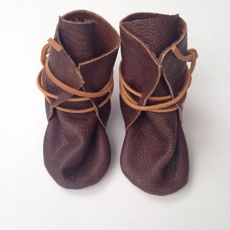 A personal favorite from my Etsy shop https://www.etsy.com/ca/listing/285457347/baby-moccasins-upcycled-leather
