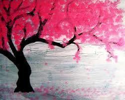 Cherry Blossom Art: Trees Art, Art Paintings, Cherries Trees, Quote, Blossom Trees, Trees Tattoo, Cherries Blossoms Trees, Trees Paintings, Cherry Blossoms