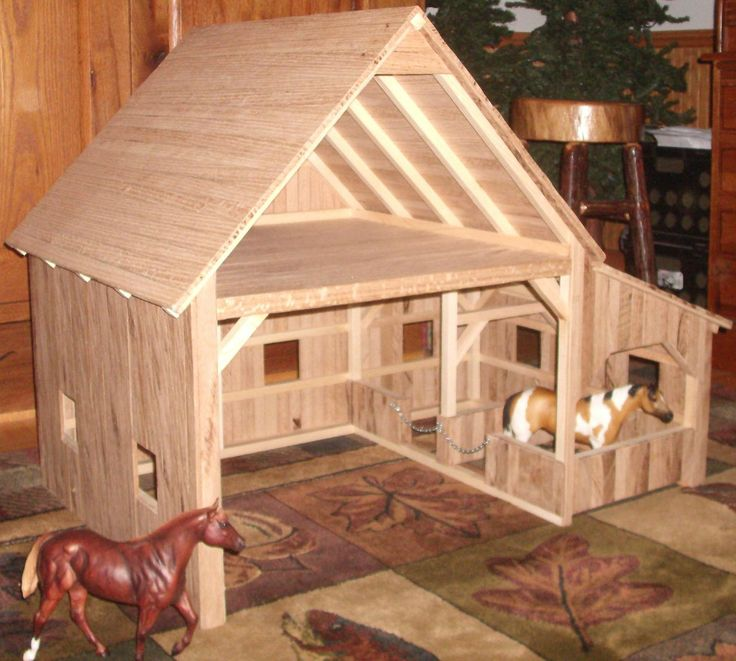 1000 Images About Diy Toy Barns On Pinterest Stables