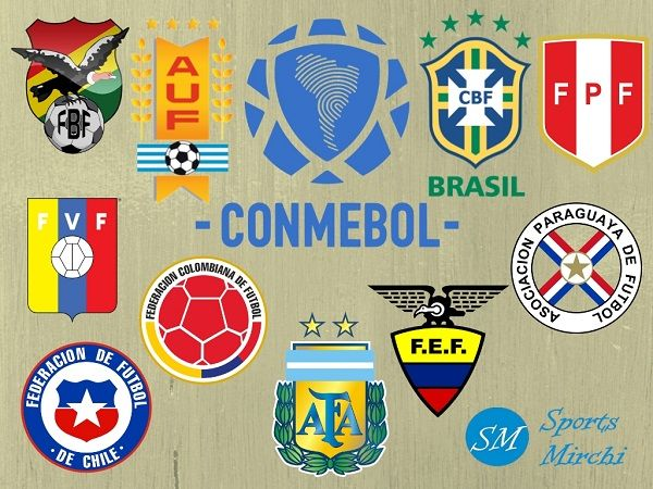 Fifa 2022 World Cup Qualifiers Matches Schedule For South American Teams Sports Mirchi World Cup Qualifiers American Football Team Fifa