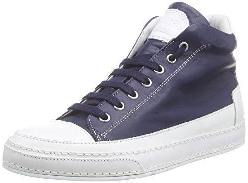 Candice Cooper joy.cotton, Damen Hohe Sneakers, Blau (navy), 36 EU - http://uhr.haus/candice-cooper/36-eu-candice-cooper-joy-cotton-damen-hohe-blau-37