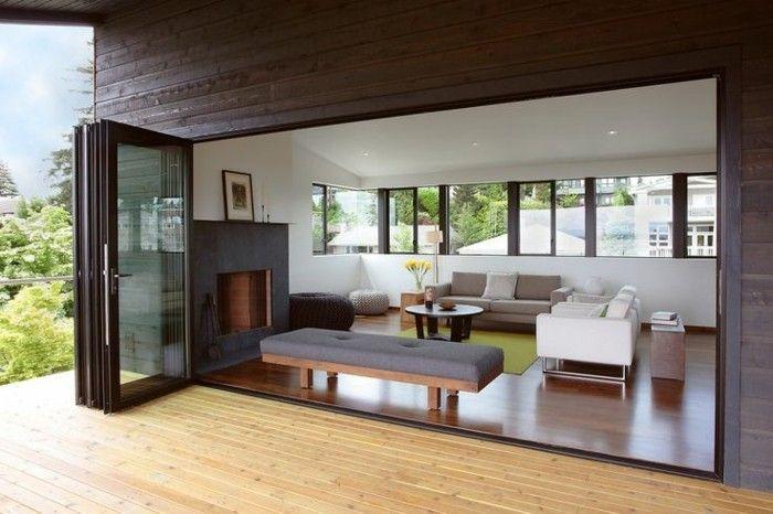 Fenetre avec ouverture par le haut Maison Et Devis Living room - creer sa maison en ligne