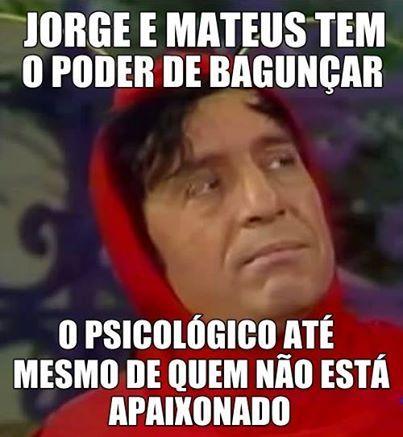 Pelamordedeus Jorge e Matheus!!!