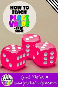 Place Value | How to Teach Place Value by Jewel Pastor of Jewel's School Gems | Are you looking for ways on how to teach place value? Well, you came to the right place! Read about various ways you can teach place value to kids, see place value activities and resources, plus grab a FREE place value digit game when you become a Jewel's School Gems subscriber. | teaching place value | place value for kids