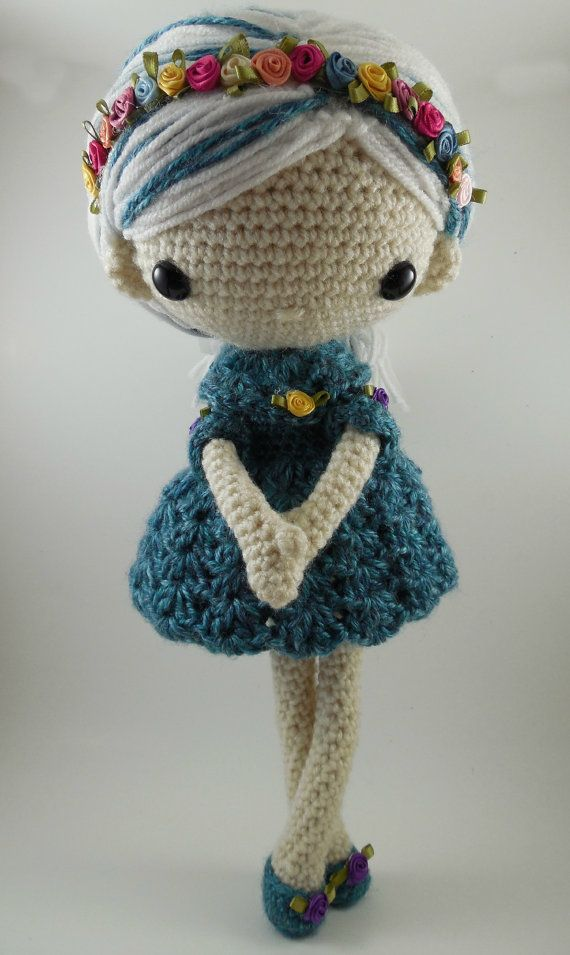 Mini Amigurumi Doll : 436 best images about munecas doll on Pinterest ...