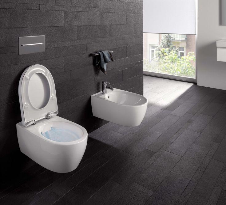 Toilet zonder spoelrand voor onderhoudsgemak - Sanidrome